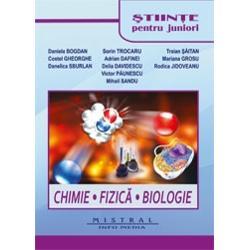 Stiinte pentru junior Chimie Fizica Biologie 2 volume
