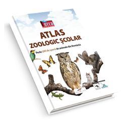 Atlasul este deosebit de util elevilor dar &537;i celor pasiona&539;i de zoologie Con&539;ine fotografii color reprezentând peste 200 de specii de animale din fauna României