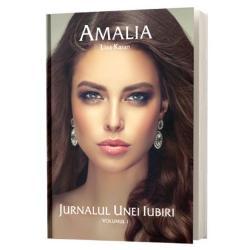 """Cand am fost intrebata intr-un interviu cum as descrie aceasta carte am spus ca """"Amalia"""" este in primul rand o calatorie initiatica Intalnindu-l pe Zain un barbat mai in varsta de cultura si religie diferite de ale ei eroina trece de la stadiul de adolescenta la cel de femeie cunoscand iubirea pasiunea dragostea furia gelozia iertarea si resemnarea """"Amalia"""" este si un tribut adus femeilor de pretutindeni acelora care in numele iubirii isi daruiesc"""