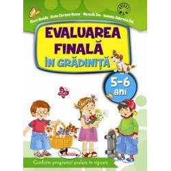 Evaluare finala in gradinita 5-6 ani