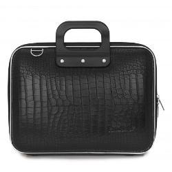 Geanta lux business/laptop 13 Cocco-Negru E00660-4
