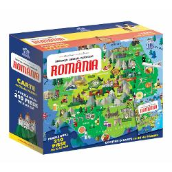 Calatoreste, invata, exploreaza - Romania, puzzle
