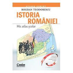 In ultimii ani au aparut mai multe atlase istorice dar acestea nu au reusit sa acopere cu adevarat — nici din punct de vedere calitativ si nici din punct de vedere cantitativ — nevoile procesului didactic din scoli Fata de celelalte atlase istorice aflate pe piata Istoria Romaniei Mic atlas scolar se distinge prin efortul de a surprinde esentialul intr-un numar limitat de planse oferind totodata o cantitate impresionanta de informatie istorica Desi in acest domeniu nu este