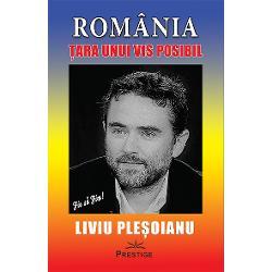 """""""Cand vorbesc despre «tara unui vis posibil» vorbesc despre asumarea unui rol de care lumea cea mare are nevoie tocmai in aceste vremuri tulburi Reintoarcerea la UMAN este singura sansa de supravietuire a speciei omenesti Orice alta «solutie» este utopica Iar Romania poate juca acest rol esential pe scena lumii Proiectul meu de tara are ca esenta ca sambure – reasezarea fiintei omenesti in centrul oricarei preocupariAceasta tara va avea"""
