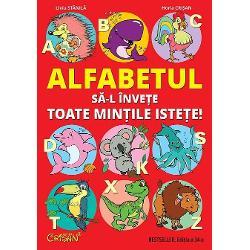 F&259;când exerci&539;ii de scriere a literelor de mân&259; mari &537;i mici &537;i colorând animalele simpatice dup&259; modelele color copiii înva&539;&259; alfabetul într-un mod pl&259;cut Literele mici &537;i mari de tipar sunt &537;i ele prezentate în versuri hazlii u&537;or de memoratAceast&259; carte este un util si distractiv manual ajut&259;tor pentru picii care studiaz&259; clasicul abecedar