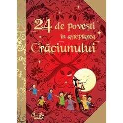 De pe 1 p&226;n&259; pe 24 decembrie copiii vor descoperi &238;n fiecare zi c&226;te o poveste sau o legend&259; celebr&259; &238;n lumea &238;ntreag&259; care-i va duce pe t&259;r&226;mul viselor a&351;tept&226;ndu-l pe Mo&351; Cr&259;ciunE o carte magic&259; &238;n care sunt adunate marile basme din folclorul interna&355;ional dar &351;i celebrele pove&351;ti ale lui Hans Christian Andersen Charles Dickens sau ale Fra&355;ilor Grimm &238;nso&355;ite de