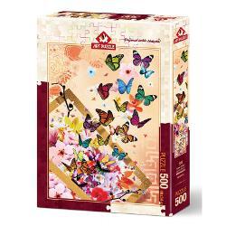 Puzzle 500 piese - SPRING BREEZE500 pieseTematica Arta