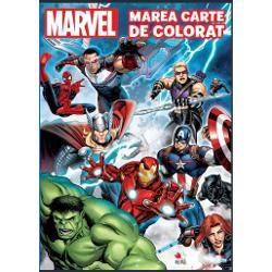Descoper&259; eroii Marvel in aceasta minunat&259; carte de colorat