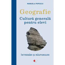 Prezentul volum cu referire explicit&259; la geografia Rom&226;niei este alc&259;tuit de un profesor de specialitate &537;i a fost stucturat &238;n patru sec&539;iuni tematice de &238;ntreb&259;ri &537;i r&259;spunsuri aferente Pozi&539;ie Rom&238;niei Geografie fizic&259; &537;i Geografie uman&259; &537;i economic&259; plus din casete &8222;&536;tiai c&259;&8220;El se adreseaz&259; elevilor de gimnaziu &537;i de liceu dar poate fi deopotriv&259; util