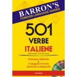 O metoda simpla si dinamica de invatare a verbelor limbii italiene    In carte veti gasi    501 verbe fundamentale ale limbii italiene ordonate alfabetic conjugate la toate modurile si timpurile   Expresii si propozitii cu cele 501 verbe   Auxiliarele essere si avere si utilizarea lor in formarea timpurilor compuse   1500 de verbe care se conjuga dupa modelul celor 501   Un index al verbelor    55 de verbe esentiale ale limbii italiene expresii si propozitii cu aceste verbe   Un