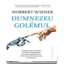 Lumea viitorului va fi o lupta inca mai istovitoare cu limitele inteligentei noastre iar nu un hamac confortabil in care sa lenevim asteptand sa fim serviti de sclavii nostri roboti - Norbert WienerNorbert Wiener numit pe drept cuvant parintele ciberneticii si-a sintetizat ideile si perspectiva asupra noii stiinte in aceasta carte-testament care pune in lumina punctele de coliziune dintre cibernetica si intrebarile fundamentale ale religieiDumnezeu si Golemul este o