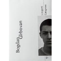 Bogdan Girbovan este unul dintre cei mai cunoscuti fotografi din Romania proiectele 101 si Uniforme si Vesminte fiind expuse si publicate cu numeroase ocazii Aceasta publicatie doreste sa ofere publicului o imagine de ansamblu asupra conceptelor si problematicilor expuse de Bogdan Girbovan Totodata monografia face parte dintr-o serie viitoare care isi doreste sa mareasca expunerea publicului larg la fotografie Galeria Posibila este o institutie care de peste 18 ani sustine produce si