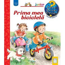 În Prima mea biciclet&259; a 8-a carte din seria Junior afl&259;m c&259; Paul a primit o biciclet&259; ro&351;ie de ziua lui E o biciclet&259; f&259;r&259; pedaleAl&259;turi de Paul copiii înva&355;&259; cum se circul&259; cu aceasta de ce trebuie s&259; frâneze la timp &351;i care e rolul c&259;&351;tii de protec&355;ie În finalul c&259;r&355;ii Paul &351;i prietenii s&259;i organizeaz&259; o curs&259; fiecare conducând