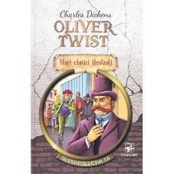 """Oliver Twist este un orfan care creste la casa parohiala dintr-un orasel Adapostul pentru minori este condus de doamna Mann care infometeaza copiii si baga in propriik buzunare cea mai mare parte din indemnizatia pentru intretinerea lor Oliver Twist isi petrece primii noua ani din viata in acest sistem de caritate """"delicat Ziva lui de nastere este sarbatorita cu o bataie si cu inchisoare in pivnita de carbuni pentru """"cumplita afirmatie ca ii este foame Apoi conducerea"""