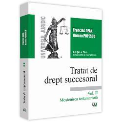 Tratat de drept succesoral volumul II (editia a IV-a)