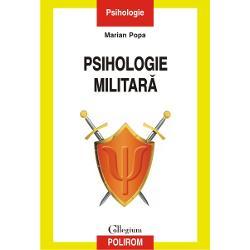 Nevoia de a spori eficien&539;a activit&259;&539;ilor de tip militar la nivel individual de grup &537;i organiza&539;ional a dus la apari&539;ia psihologiei militare un domeniu complex în care se reg&259;sesc elemente de psihologie organiza&539;ional&259; a personalit&259;&539;ii clinic&259; &537;i experimental&259; Volumul abordeaz&259; psihologia militar&259; ca pe un corp de aplica&539;ii ale diverselor ramuri ale psihologiei în contextul categoriilor