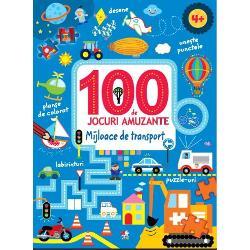 Labirinturi puzzle-uri activit&259;&539;i cu numere &537;i multe alteleCele 100 DE JOCURI din aceast&259; carte &238;i vor distra ore &238;ntregi pe copiii c&259;rora le plac provoc&259;rile &537;i ma&537;inile