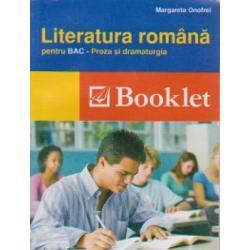 Literatura romana proza si dramaturgie pentru BAC editia 2016