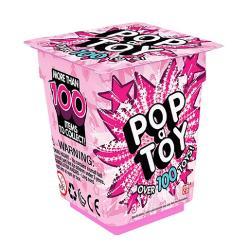 PentruFeteVarsta3 - 4 ani 4 - 5 ani 5 - 7 aniCuloareRozBrandPop A ToyJucarie surpriza pentru fete Culoarea roz este pentru