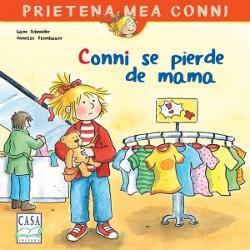 Conni a crescut mare Ea are nevoie de h&259;inu&355;e &351;i pantofi noi Pentru a-&351;i reînnoi garderoba Conni merge în ora&351; cu mama la cump&259;r&259;turi Ele caut&259; haine într-un magazin mare Preocupat&259; s&259;-&351;i încerce hainele alese Conni se r&259;t&259;ce&351;te de mamaLa început ea plânge disperat&259; imaginându-&351;i c&259; va trebui s&259;-&351;i petreac&259; restul