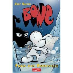 Dupa ce au fost alungati din Boneville orasul lor de bastina ce trei veri Bone - Fone Bone Phoney Bone si Smiley Bone - se ratacest in desert Ajung apoi intr-o misterioasa vale impadurita plina de creaturi nemaivazute unele minunate dar altele cat se poate de infricosatoareFortele intunecate ale raului conspira impotriva locuitorilor pasnici ai vaii iar verii Bone se vad prinsi la mijloc intr-un conflict pe care nu-l inteleg Vor reusi cei trei sa scape teferi din capcana pe