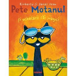 De data aceasta  Pete Motanul se trezeste putin morocanos &8211; parca nimic nu-i merge bine Insa  datorita unor ochelari de soare minunati  isi da seama ca voia buna s-a aflat dintotdeauna in sufletul lui Admiratorii lui Pete vor fi foarte incantati de optimismul lui  cu ajutorul caruia transforma o zi posomorata intr-una magnifica