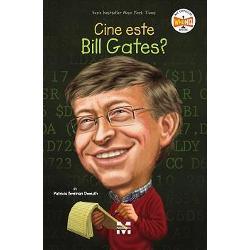 Care dintre aceste afirma&539;ii este adev&259;rat&259;Un b&259;iat care era un geniu al computerelorCofondatorul companiei MicrosoftUn b&259;rbat care a donat miliarde de dolari cauzelor caritabileToate cele de mai susAfl&259; mai multe din aceast&259; carte minunat ilustrat&259;