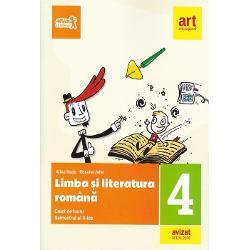 Caiet de limba si literatura romana clasa a IV a semestrul II  portofoliu de evaluare al elevului