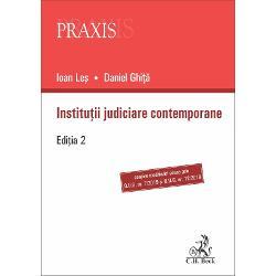 Lucrarea realizeaz&259; o analiz&259; riguroas&259; a sistemului judiciar românesc precum &537;i o prezentare general&259; a sistemelor omonime din câteva &539;&259;ri europene dar &537;i de pe alte continente Într-un deceniu de la publicarea primei edi&539;ii au intervenit modific&259;ri legislative importante unele dintre cele mai semnificative fiind implicate cu deosebire de intrarea în vigoare a noilor Coduri de procedur&259; civil&259; &537;i