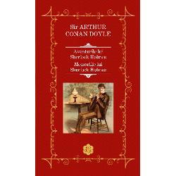 """Aventurile lui Sherlock Holmes cuprinde 12 povestiri publicate pentruprima oar&259; într-un singur volum în 1982 conturate în jurul unornedrept&259;&539;i ilustrative pentru epoc&259; Aventurile cuprinde multe dintrepovestirile favorite ale lui Conan Doyle precum """"Aventura basmaleipestri&539;e prima pe lista de cele mai bune 12 titluri trimis&259; de autorc&259;tre The Strand Magazine în 1927 """"Liga"""