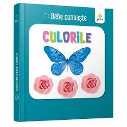 Util&259; pentru a-i înv&259;&539;a pe bebelu&537;i cuvinte noi cartea con&539;ine zece imagini cu elemente din natur&259; diferit colorate Este cartonat&259; integral u&537;or de apucat &537;i rezistent&259; la r&259;sfoireSeria Bebe cunoa&537;te este dedicat&259; copiilor de vârst&259; mic&259; afla&539;i la primele interac&539;iuni cu cartea No&539;iunile sunt prezentate în perechi