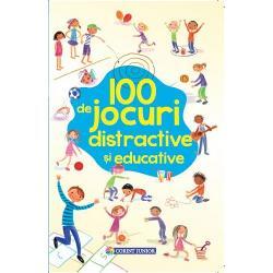 Editura Corint Junior vD&3; propune încD&3; un titlu deosebit de atractiv pentru petrecerea timpului liber în familie alD&3;turi de micuH&27;ul tD&3;u 100 de jocuri distractive H&25;i educative propune copiilor peste 6 ani sD&3; îH&25;i punD&3; mintea la contribuH&27;ie pentru a rezolva într-un mod creativ H&25;i amuzant sarcinile jocurilor Joaca este cuvântul de ordine indiferent unde te afli în vacanH&27;D&3; sau chiar în