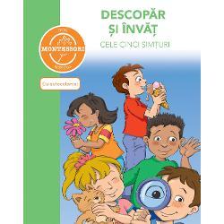 Activit&259;&539;ile din carte se bazeaz&259; pe metoda Montessori cunoscut&259; în toat&259; lumea Aceast&259; abordare &537;i-a dovedit eficien&539;a în dezvoltarea stimei de sine autonomiei &537;i creativit&259;&539;ii copilului Într-un context pedagogic pl&259;cut aceast&259; carte este o veritabil&259; surs&259; de activit&259;&539;i juc&259;u&537;e &537;i jocuri palpitante Copiii cu vârste cuprinse între 5 &537;i 7 ani pot