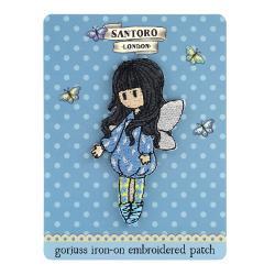 Ecuson brodat Gorjuss Bubble Fairy o varianta foarte pratica de a-ti accesoriza tricoul tau preferat cu o fetita Gorjuss&160;Dimensiuni 8 x 5 cmMaterial Textil