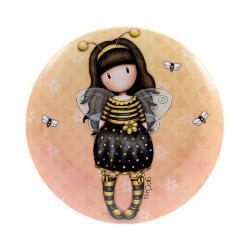 Gorjuss Cutie metalica pt suveniruri-Bee Loved-Loved-2x13.5x 242JB imagine librarie clb