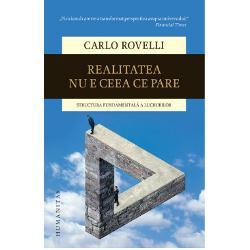 """""""Fizicianul care ne-a transformat perspectiva asupra universului"""" –Financial TimesCarlo Rovelli unul dintre protagoni&537;tii cercet&259;rilor din gravita&539;ia cuantic&259; urm&259;re&537;te evolu&539;ia ideilor despre alc&259;tuirea lumii din Antichitate pân&259; la descoperirile &537;i modelele teoretice cele mai recente care ne modific&259; radical perspectiva asupra materiei spa&539;iului &537;i timpului Consecin&539;a"""