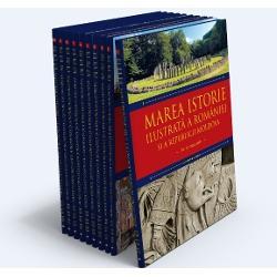 Pachet marea istorie ilustrata a Romaniei si a Republicii Moldova (10 volume) imagine librarie clb