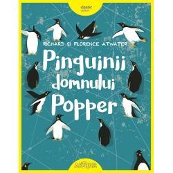 Domnul Popper viseaz&259; s&259; plece în expedi&539;ie în Antarctica &537;i s&259; tr&259;iasc&259; printre pinguini ca amiralul Drake pe care îl admir&259; enorm A&537;a c&259; e de-a dreptul surprins când marele explorator îi trimiteun pachet în care se afl&259; nici mai mult nici mai pu&539;in decât un pinguin viu tocmai de la Polul Sudp stylemargin-top