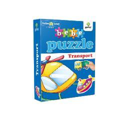 Puzzle-ul con&539;ine20 piese de mari dimensiuni potrivite pentru copiii cu vârsta peste 18 luni Acestea se potrivesc câte dou&259; astfel încât s&259; alc&259;tuiasc&259; 10mijloace de transportPotrivit înc&259; de la 12 luni puzzle-ul dezvolt&259;abilit&259;&539;ile cognitiver&259;bdarea&537;iprecizia