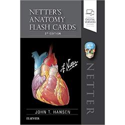 Learn the essential anatomy you need to know – quickly and easily Each flash card in this full-color deck featureshigh-quality Netter art and several new paintings by Dr Carlos Machado numbered labels with hidden answers and concise comments and clinical notesfor the most commonly tested anatomy terms and concepts Focusing on clinically relevant anatomy this easy-to-use portable study tool helps you learn anatomical structures with