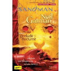 Sandman capodopera lui Neil Gaiman unul dintre cele mai apreciate romane grafice aletuturor timpurilor a impus un standard pentru unfantasymatur în domeniul benzilordesenate SeriaSandmana fost ilustrat&259; de mai mul&539;i arti&537;ti excep&539;ionali fiind un amestecde mitologie antic&259; &537;i modern&259; în care se întrep&259;trund perfect fic&539;iunea contemporan&259;drama