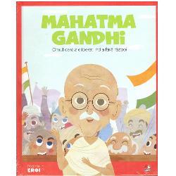 Mohandas Karamchand Gandhi s-a n&259;scut &238;n 1869 &238;n India ocupat&259; de britaniciDe&537;i a studiat dreptul la Londra &537;i &537;i-a petrecut tinere&539;ea &238;n Africa de Sud Ghandi a r&259;mas devotat patriei sale &537;i &537;i-a dedicat ultima parte a vie&539;ii pentru a face din India o na&539;iune independent&259;Chem&226;nd la nesupunere civic&259; non-violent&259; Gandhi a condus India la independen&539;&259; &537;i a inspirat mi&537;c&259;ri