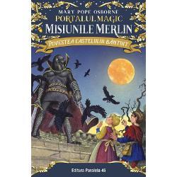 Jack &537;i sora lui mai mic&259; Annie c&259;l&259;toresc &238;n timp &537;i spa&539;iu din c&259;su&539;a lor secret&259; de aceast&259; dat&259; &238;ntr-un nou ciclu Misiunile Merlin Fiecare misiune aduce mai mult&259; magie mai multe aventuri t&259;r&226;muri noi &537;i personaje fascinante Extrem de apreciate de p&259;rin&539;i de profesori dar mai ales de copii c&259;r&539;ile din seria PORTALUL MAGIC au realizat un lucru cu adev&259;rat magic au trezit