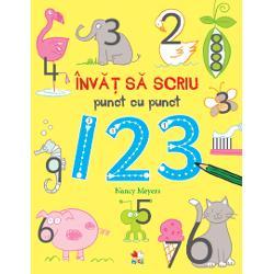 Aceast&259; carte minunat&259; &238;i &238;ncurajeaz&259; pe cei mici s&259; &238;nceap&259; s&259; scrie numere &238;nt&226;i pe puncte apoi s&259;-&537;i dezvolte abilit&259;&539;ile rezolv&226;nd activit&259;&539;ile cu deseneE at&226;t de distractiv s&259; &238;nve&539;i s&259; scrii primele numere prin joac&259;