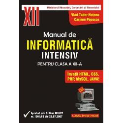 Manual intensiv info cls XII