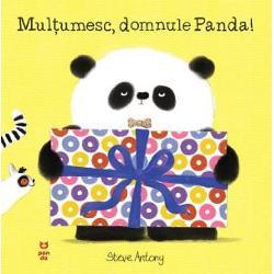 """O carte scris&259; de Steve Antony câ&537;tig&259;torul Oscar's First Book PrizeDomnul Panda are cadouri-surpriz&259; pentru prietenii lui Unele sunt prea mari altele prea grele iar altele sunt de-a dreptul ciudate Dar &539;ine minte inten&539;ia conteaz&259;""""O carte ideal&259; pentru copiii care vor s&259; înve&539;e despre importan&539;a bunelor maniere""""The Sun"""
