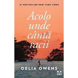 """""""Un roman de o frumuse&539;e tulbur&259;toareThe New York Times Book Review""""Delia Owens exploreaz&259; felul în care izolarea afecteaz&259; comportamentul uman precum &537;i efectul profund pe care îl poate avea respingerea asupra noastr&259;Vanity FairZvonurile despre Fata Mla&537;tinii au circulat mul&539;i ani în Barkley Cove un or&259;&537;el lini&537;tit de pe coasta"""