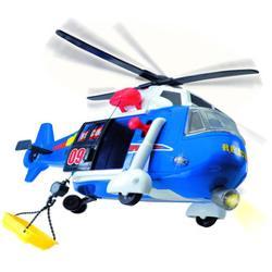 Elicopter de salvare Rescue 3308356 DickieFabricat din plastic de foarte buna calitate  robust  elicopterul va asigura momentele de relaxare ale copilului tauCaracteristici- sunete specifice- elicea elicopeterului se