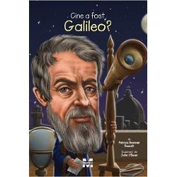 Un astronom care a inteles ca Soarele nu se invarteste in jurul Pamantului    Un om condamnat la arest la domiciliu pentru descoperirile lui    Parintele stiintei moderne    Toate cele de mai susAfla mai multe despre adevaratulGalileo Galileiin aceasta biografie amuzanta si minunat ilustrata