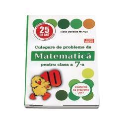 Editia 25 revizuita si adaugitaLucrarea -Culegere de probleme de matematica PUISORUL Pentru clasa a VII-a- a fost acceptata pentru aprobarea de catre CNEE in sesiunea august-septembriem 2018 la pozitia 48Culegerea cuprinde probleme si exercitii corespunzatoare programei scolare de matematica aprobate prin OEM 33932017 In functie de gradul de complexitate exercitiile si problemele au rezultate indicatii sau rezolvarii